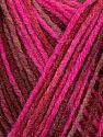 Contenido de fibra 100% Acrílico, Maroon, Brand Ice Yarns, Fuchsia, Burgundy, Yarn Thickness 2 Fine  Sport, Baby, fnt2-44746