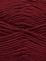Fiber indhold 100% Micro Acrylic, Brand Ice Yarns, Burgundy, Yarn Thickness 2 Fine  Sport, Baby, fnt2-44754