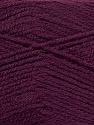 Fiber indhold 100% Akryl, Maroon, Brand Ice Yarns, Yarn Thickness 2 Fine  Sport, Baby, fnt2-44781