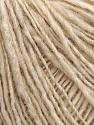 Fiber Content 60% Acrylic, 20% Wool, 20% Alpaca, Brand Ice Yarns, Cream melange, fnt2-44813