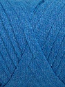 Vezelgehalte 100% Recycled Cotton, Brand Ice Yarns, Blue, Yarn Thickness 6 SuperBulky  Bulky, Roving, fnt2-44905