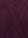 Fiberinnhold 100% Recycled Cotton, Maroon, Brand Ice Yarns, Yarn Thickness 6 SuperBulky  Bulky, Roving, fnt2-44913