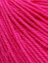 SUPERWASH WOOL is a DK weight 100% superwash wool yarn. Perfect stitch definition, and a soft-but-sturdy finished fabric. Projects knit and crocheted in SUPERWASH WOOL are machine washable! Lay flat to dry. Fiber Content 100% Superwash Wool, Pink, Brand Ice Yarns, Yarn Thickness 3 Light  DK, Light, Worsted, fnt2-45043