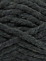 Fiber Content 55% Acrylic, 45% Wool, Brand ICE, Dark Grey, Yarn Thickness 6 SuperBulky  Bulky, Roving, fnt2-45121