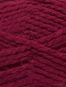 SuperBulky  Fiber Content 60% Acrylic, 30% Alpaca, 10% Wool, Brand ICE, Burgundy, Yarn Thickness 6 SuperBulky  Bulky, Roving, fnt2-45165