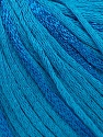 Fiber Content 79% Cotton, 21% Viscose, Turquoise, Brand ICE, Yarn Thickness 3 Light  DK, Light, Worsted, fnt2-45190