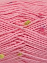 Fiber Content 87% Antipilling Acrylic, 13% Polyester, Pink, Lilac, Brand Ice Yarns, Green, Fuchsia, Yarn Thickness 3 Light  DK, Light, Worsted, fnt2-45200