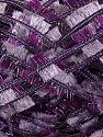 Fiber Content 95% Polyester, 5% Metallic Lurex, Purple, Lilac, Brand ICE, Yarn Thickness 5 Bulky  Chunky, Craft, Rug, fnt2-45272