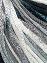 Fiber Content 79% Cotton, 21% Viscose, White, Brand Ice Yarns, Grey, Black, Yarn Thickness 3 Light  DK, Light, Worsted, fnt2-45307