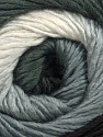 Fiber Content 50% Acrylic, 50% Wool, White, Brand ICE, Grey, Black, Yarn Thickness 2 Fine  Sport, Baby, fnt2-45312