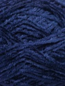 Fiber indhold 100% Polyester, Navy, Brand Ice Yarns, Yarn Thickness 1 SuperFine  Sock, Fingering, Baby, fnt2-45413