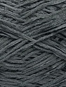 Fiber indhold 100% Polyester, Brand Ice Yarns, Grey, Yarn Thickness 1 SuperFine  Sock, Fingering, Baby, fnt2-45518