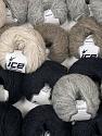 Hurricane  Contenido de fibra 27% Acrílico, 23% Lana, 23% De nylon, 15% Alpaca Superfine, 12% Viscosa, Brand Ice Yarns, fnt2-45615