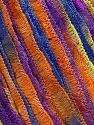 Vezelgehalte 100% Polyamide, Yellow, Purple, Orange, Brand Ice Yarns, Blue, fnt2-45756