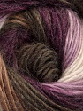 Fiber Content 40% Wool, 30% Acrylic, 30% Mohair, White, Purple, Lilac, Brand Ice Yarns, Brown Shades, Yarn Thickness 3 Light  DK, Light, Worsted, fnt2-45798