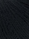 Contenido de fibra 35% Acrílico, 35% Lana Merino, 30% Bebé Alpaca, Brand Ice Yarns, Black, fnt2-45832