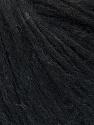 Contenido de fibra 27% Acrílico, 23% De nylon, 23% Lana, 15% Alpaca Superfine, 12% Viscosa, Brand Ice Yarns, Black Melange, fnt2-45848