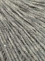 Cashmere  Fiber Content 70% Cotton, 15% Cashmere, 15% Elite Polyester, Light Grey Melange, Brand Ice Yarns, fnt2-45915