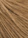 Fiber Content 78% Extrafine Merino Wool, 22% Polyamide, Light Brown, Brand Ice Yarns, fnt2-45916
