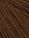 Fiber Content 40% Merino Wool, 40% Acrylic, 20% Polyamide, Brand Ice Yarns, Brown, Yarn Thickness 3 Light  DK, Light, Worsted, fnt2-46037