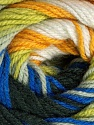 Fiberinnhold 100% Premium akryl, Yellow, White, Brand Ice Yarns, Grey, Green, Blue, Black, fnt2-46038