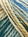 Fiber Content 75% Acrylic, 25% Wool, White, Turquoise, Teal, Brand Ice Yarns, Grey, Blue, Beige, Yarn Thickness 5 Bulky  Chunky, Craft, Rug, fnt2-46224