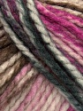 Fiber Content 75% Acrylic, 25% Wool, White, Brand Ice Yarns, Grey, Fuchsia, Brown, Yarn Thickness 5 Bulky  Chunky, Craft, Rug, fnt2-46228