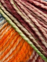 Fiber Content 75% Acrylic, 25% Wool, White, Orange, Maroon, Brand Ice Yarns, Green, Blue, Yarn Thickness 5 Bulky  Chunky, Craft, Rug, fnt2-46232