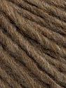 Composição 50% Lã Merino, 25% Alpaca, 25% Acrílico, Brand Ice Yarns, Camel Melange, fnt2-46241