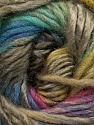 Fiber Content 60% Wool, 40% Acrylic, Turquoise, Brand Ice Yarns, Green Shades, Camel, Blue, Yarn Thickness 4 Medium  Worsted, Afghan, Aran, fnt2-46286