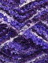 Fiberinnhold 95% Polyester, 5% Lurex, White, Purple, Lilac, Brand Ice Yarns, Blue, fnt2-46297
