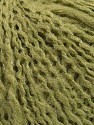 Fiber Content 8% Lurex, 70% Acrylic, 22% Wool, Light Green, Brand Ice Yarns, fnt2-46342