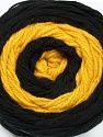 Fiber Content 100% Acrylic, Yellow, Brand Ice Yarns, Black, fnt2-46406
