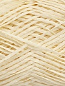 Fiber Content 100% Cotton, Brand Ice Yarns, Cream, fnt2-46463