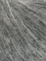 Fiber indhold 85% Ekstrafine Merino Uld, 2% Elastan, 13% Polyamid, Light Grey, Brand Ice Yarns, fnt2-46468