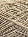 Fiber Content 53% Acrylic, 24% Viscose, 23% Wool, Brand Ice Yarns, Beige, fnt2-46472