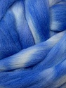 Yarn is made from 100% Australian Merino Wool of 21 Microns. This super-soft yarn is hand-dyed with natural materials. No chemicals were used during dyeing. Indigo Blue Shades, Brand Ice Yarns, fnt2-46483