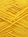 Please note that the yarn weight and the ball length may vary from one color to another for this yarn. Fiber Content 100% Cotton, Yellow, Brand Ice Yarns, Yarn Thickness 3 Light  DK, Light, Worsted, fnt2-46494