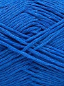 Please note that the yarn weight and the ball length may vary from one color to another for this yarn. Fiberinnehåll 100% Bomull, Brand Ice Yarns, Blue, Yarn Thickness 3 Light  DK, Light, Worsted, fnt2-46498