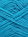 Please note that the yarn weight and the ball length may vary from one color to another for this yarn. Fiber Content 100% Cotton, Light Turquoise, Brand Ice Yarns, Yarn Thickness 3 Light  DK, Light, Worsted, fnt2-46500