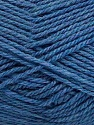 Fiber Content 60% Acrylic, 40% Wool, Jeans Blue, Brand Ice Yarns, fnt2-46743
