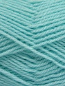Fiber Content 60% Acrylic, 40% Wool, Brand Ice Yarns, Baby Turquoise, Yarn Thickness 3 Light  DK, Light, Worsted, fnt2-46744