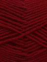 Fiber Content 60% Acrylic, 40% Wool, Brand Ice Yarns, Burgundy, Yarn Thickness 3 Light  DK, Light, Worsted, fnt2-46747