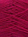 Fiber Content 60% Acrylic, 40% Wool, Brand Ice Yarns, Fuchsia, Yarn Thickness 3 Light  DK, Light, Worsted, fnt2-46750