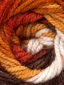 Fiber Content 100% Acrylic, White, Brand Ice Yarns, Gold, Copper, Brown, Yarn Thickness 4 Medium  Worsted, Afghan, Aran, fnt2-46965