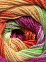 Fiber Content 100% Mercerised Cotton, Yellow, Orchid, Orange, Brand ICE, Green, Yarn Thickness 2 Fine  Sport, Baby, fnt2-47020