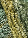 Fiber Content 49% Acrylic, 35% Wool, 16% Polyamide, Brand Ice Yarns, Green Shades, fnt2-47086