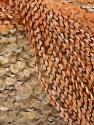 Contenido de fibra 49% Acrílico, 35% Lana, 16% Poliamida, Orange, Brand Ice Yarns, Cream, Camel, fnt2-47088