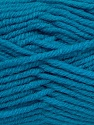 Fiber Content 50% Acrylic, 25% Wool, 25% Alpaca, Turquoise, Brand ICE, Yarn Thickness 5 Bulky  Chunky, Craft, Rug, fnt2-47145