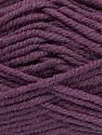 Fiber Content 50% Acrylic, 25% Wool, 25% Alpaca, Purple, Brand ICE, Yarn Thickness 5 Bulky  Chunky, Craft, Rug, fnt2-47146